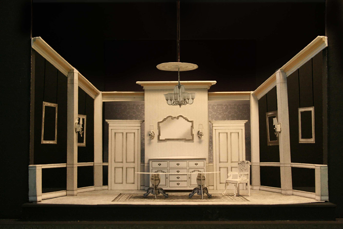 The dining room for Room design model