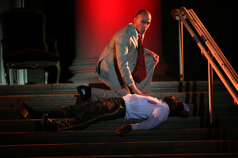 Ceasar Stabbed on the Steps