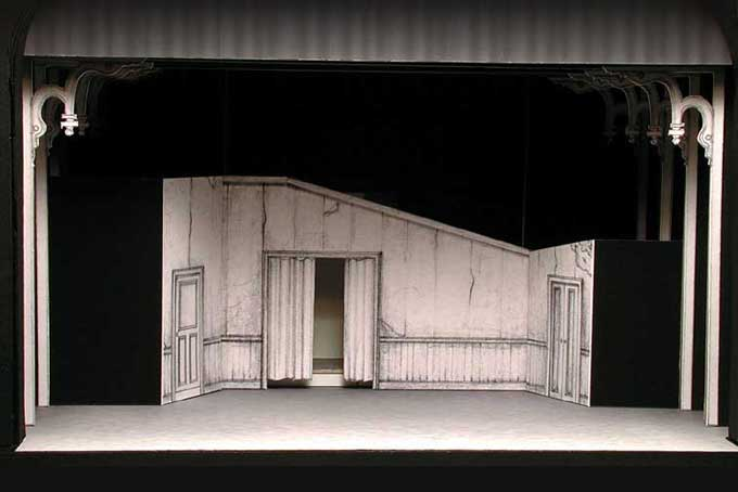 Showboat Model Boarding House