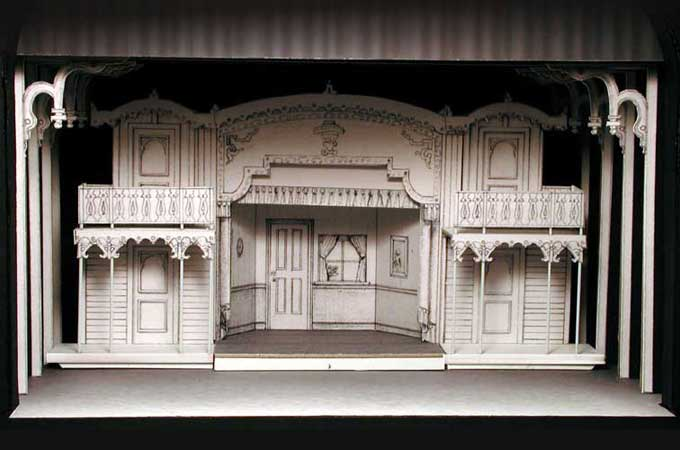 Showboat Model Theatre